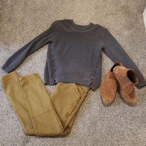 Zara boys pull over Sweater EUC 👌size 11/12